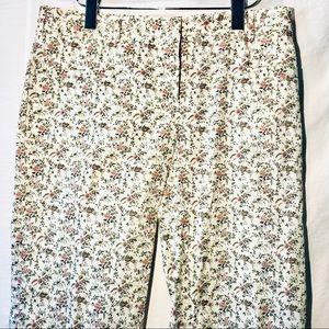 Miu Miu Liberty printed trousers.